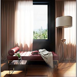 大连欧式古典装修-卧室