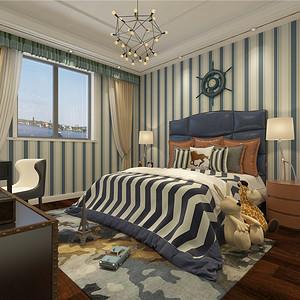 水木清华现代轻奢卧室装修效果图
