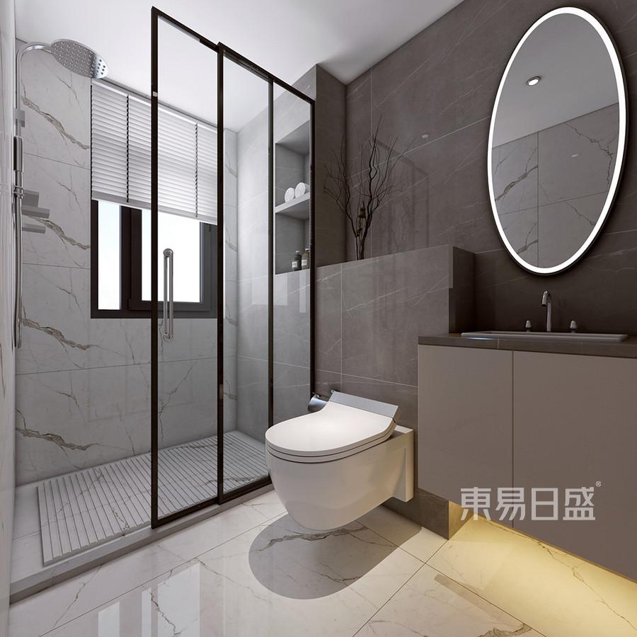 现代新极简风格卫生间装修设计