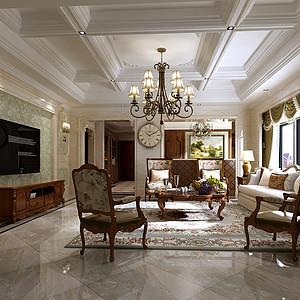 碧桂园美式风格400平米独栋别墅