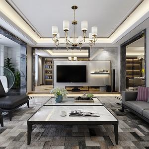客厅带给我们无比轻松的居住空间