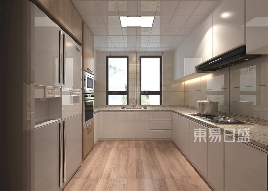 四居室-简欧-厨房-效果图