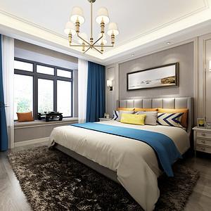 简欧风格卧室装修设计