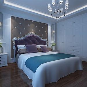 新世界花园一区-卧室装修效果图