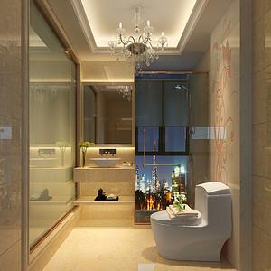 卫生间装修效果图-东易日盛装饰设计