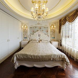 法式风格卧室及软饰配套