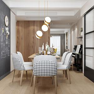 紫金西苑现代风格餐厅