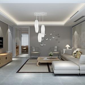 达润御园—新中式风格—164平米