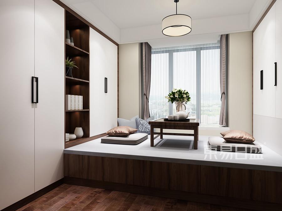 二居室-新中式-效果图