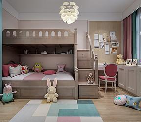 美式风格儿童房装修设计