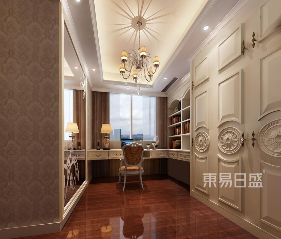书房装修效果图 欧式古典风格装饰设计