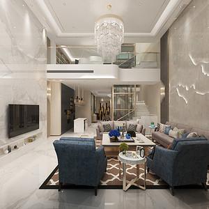 客厅装修效果图-别墅装修设计方案