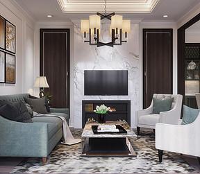 现代丨客厅