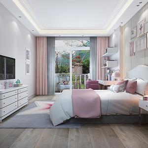 儿童房装修效果图-别墅装修设计方案