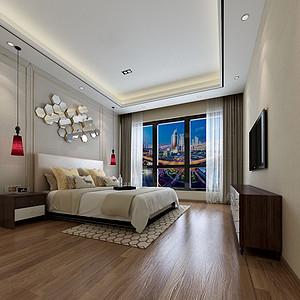 港式风格卧室