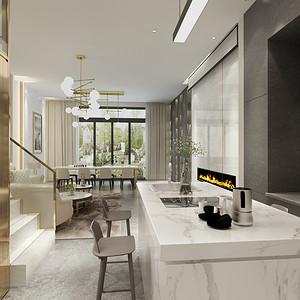 厨房装修效果图-别墅装修设计方案