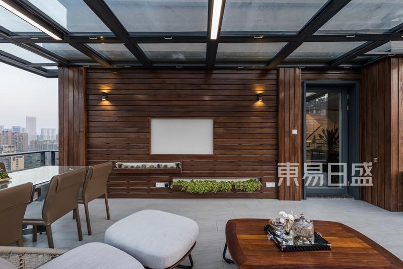 康城国际现代风格阳台