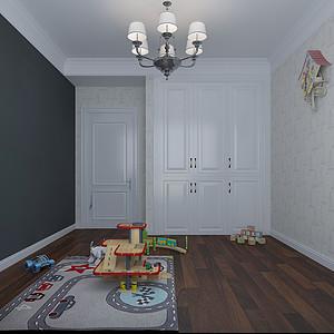 现代风格-儿童房-装修效果图