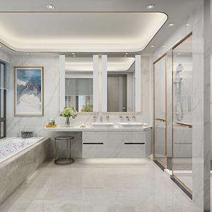 卫生间装修效果图-别墅装修设计方案