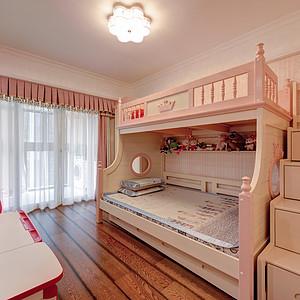 混搭风格儿童房装修实景图