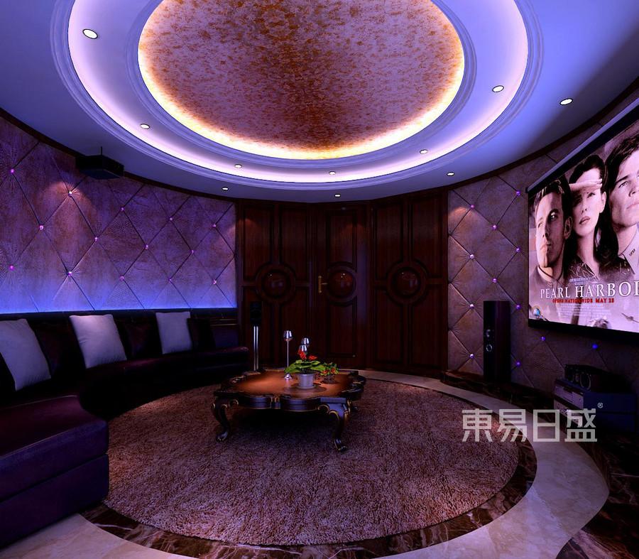 广顺后现代城新古典影音室装修效果图