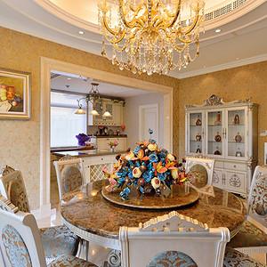 欧式风格宫廷餐厅装修效果图-第961页 西安餐厅装饰效果图 西安餐厅