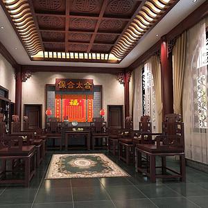 中式风格中堂