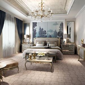 轻奢法式卧室装修效果图-第7页 法式卧室装修效果图 法式卧室装修图