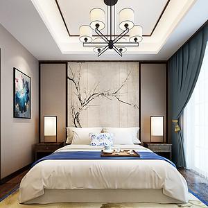 弘阳上园现代中式150㎡卧室