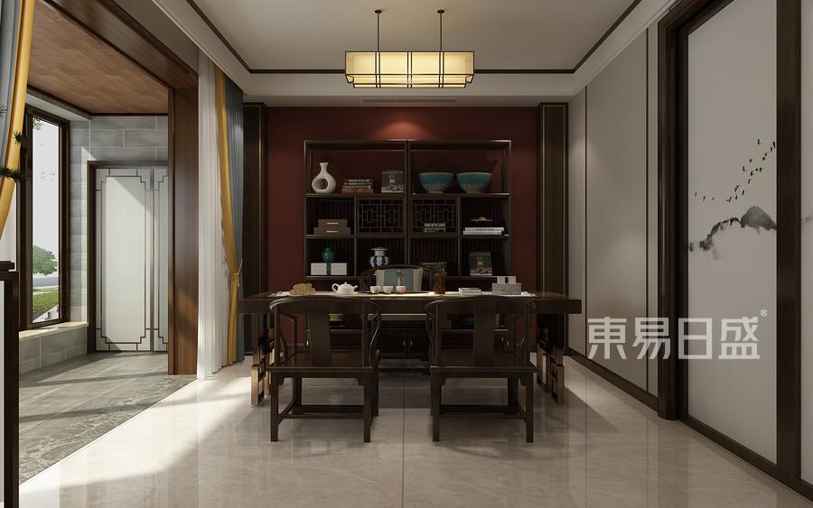 普通住宅-新中式-效果圖