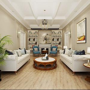 东方传奇 170㎡ 简美装修效果图 五室三厅