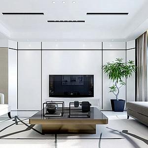 海珀兰轩现代简约158平两室两厅