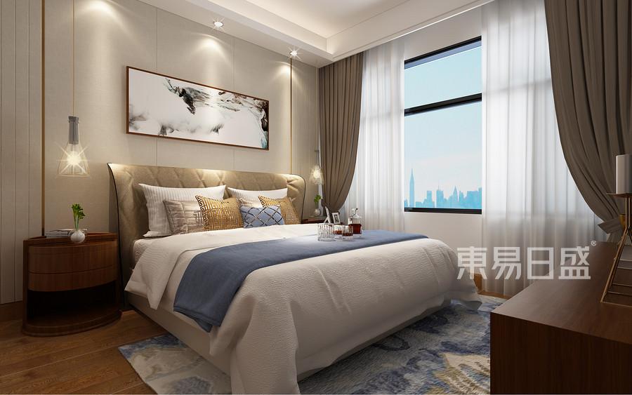 优雅舒适是这个房子的设计理念,干净整洁的地板和木质的装饰,让空间干净通透。
