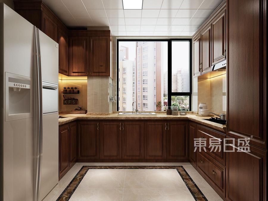 三居室-欧式-厨房-效果图