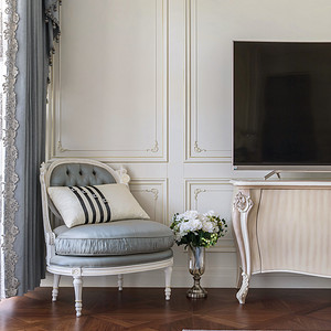 法式风格卧室