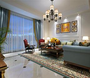 客厅美式风格装修