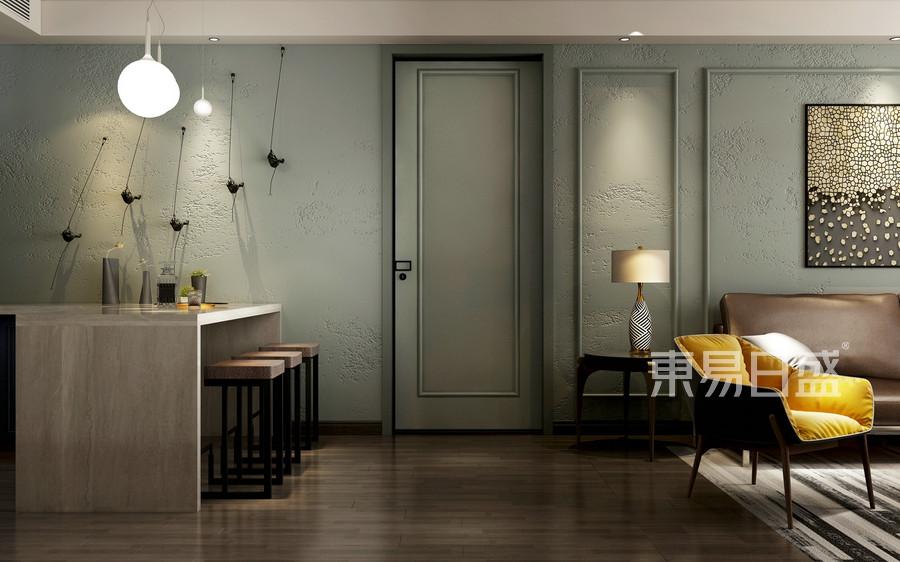 现代风格-客餐厅-装修效果图