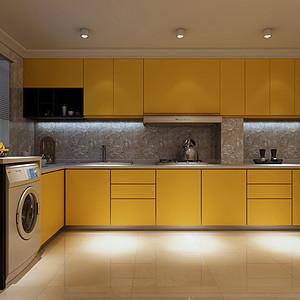 个性的厨房空间