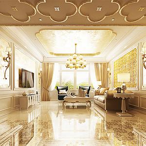 旺海公府-装饰艺术风格-190平米