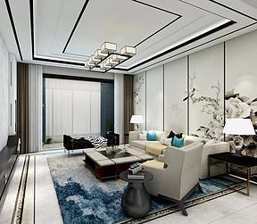 豪布斯卡现代简约风格客厅装修案例