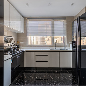 康城国际现代风格厨房