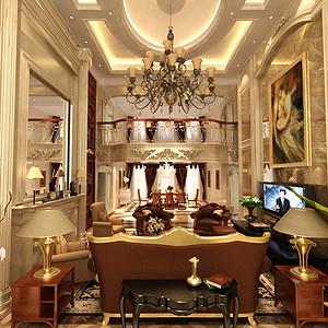 法式-客厅