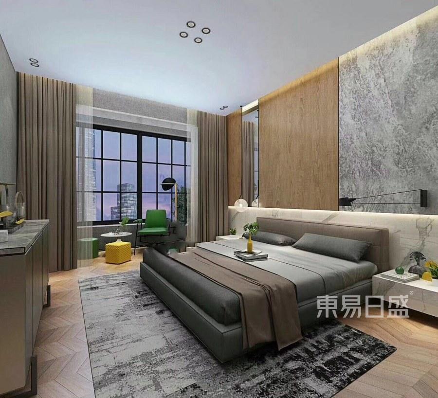 东方花园-轻奢风格-卧室装修效果图