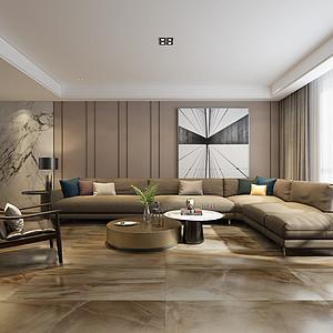 广电天韵现代简约风格180平米低层