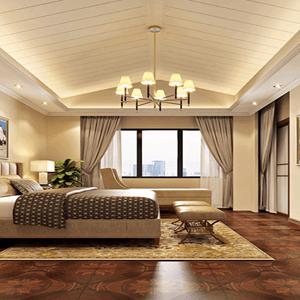 美式卧室高贵气质一览无余