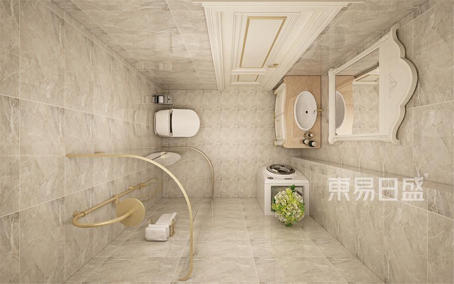 180平米唐城101欧式风格卫生间装修效果图
