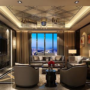 客厅稳重大气的客厅带给我们无比尊贵