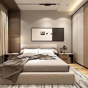 现代北欧风格卧室装修设计