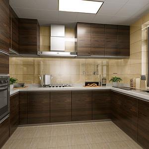 厨房打造的充满生机