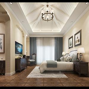 卧室装修效果图-别墅装修设计方案